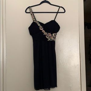 City Triangles Bejeweled Dress